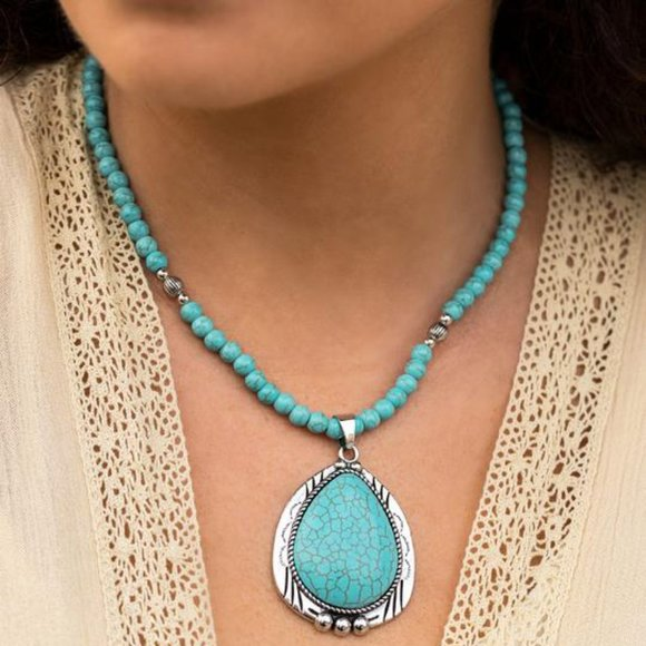 Evolution Turquoise Necklace